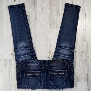 Rock Revival Nelrose Moto Jean's.  Size 29.